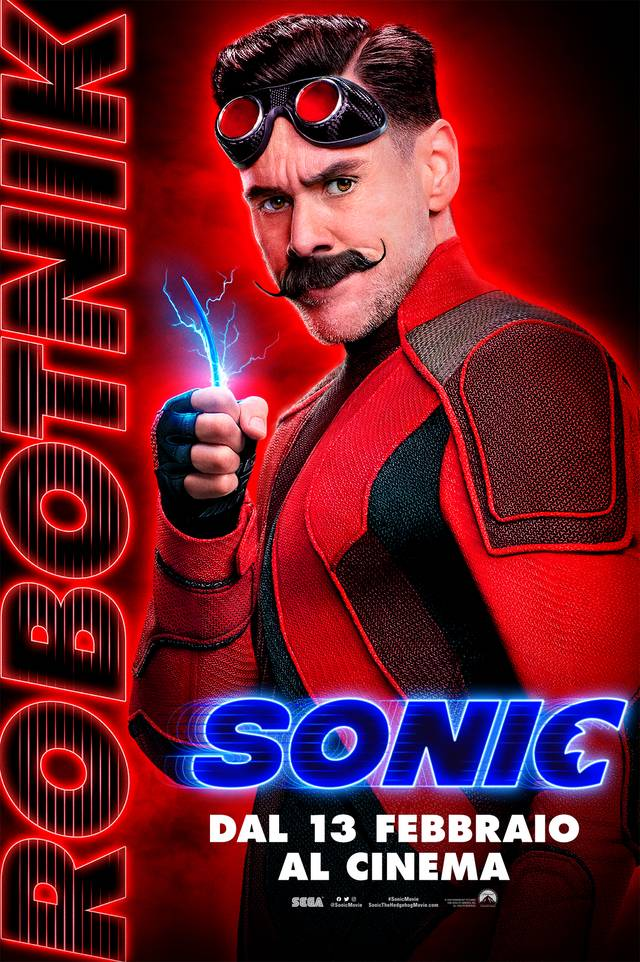 Sonic - Il Film Teaser Character Poster Italia 3