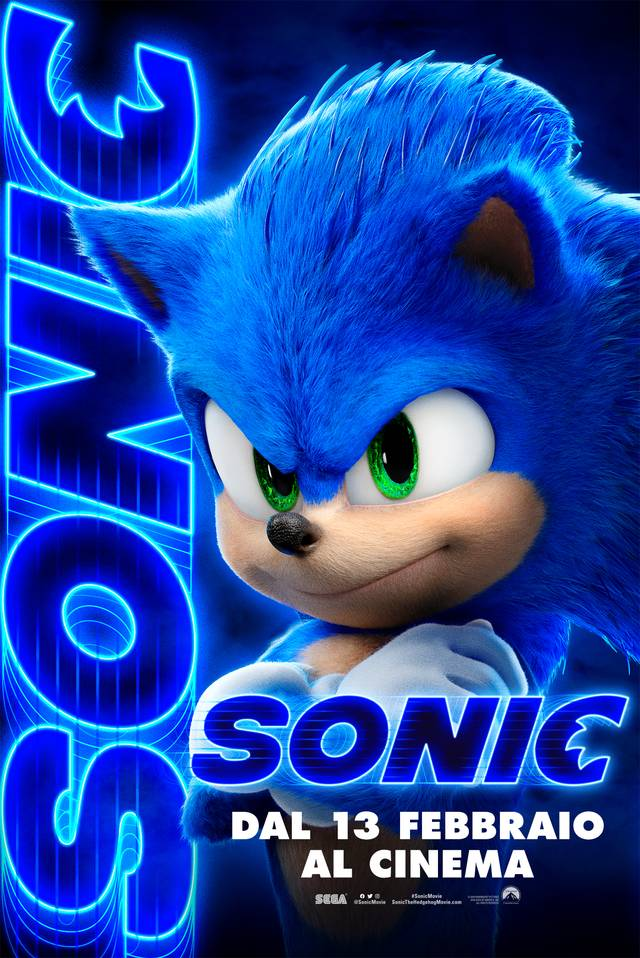 Sonic - Il Film Teaser Character Poster Italia 4