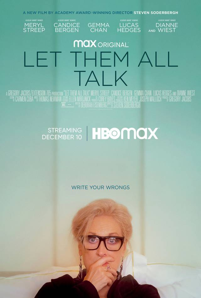 Let Them All Talk Poster USA