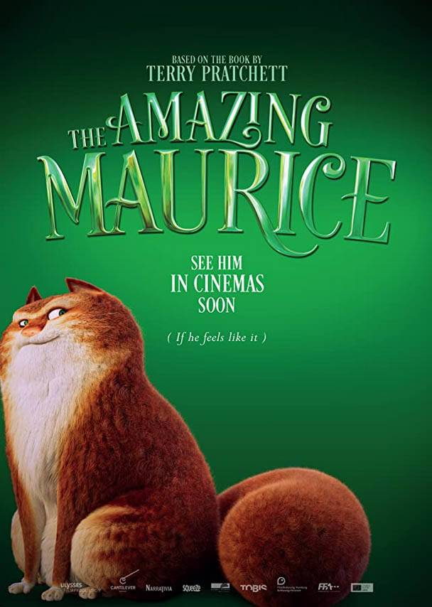 The Amazing Maurice Teaser Poster Internazionale