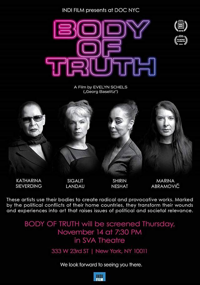 Body of Truth Poster Internazionale