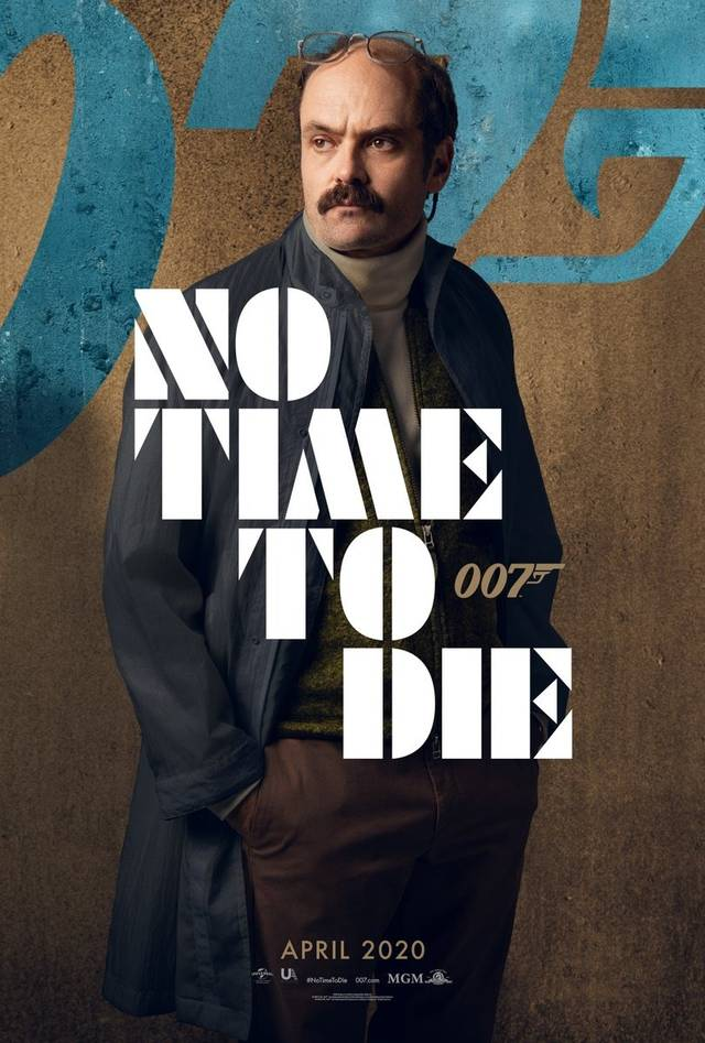 No Time To Die Teaser Character Poster USA 1