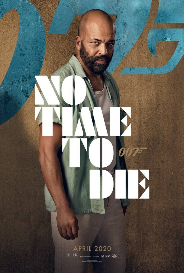 No Time To Die Teaser Character Poster USA 2