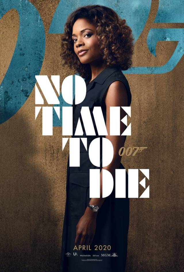 No Time To Die Teaser Character Poster USA 3