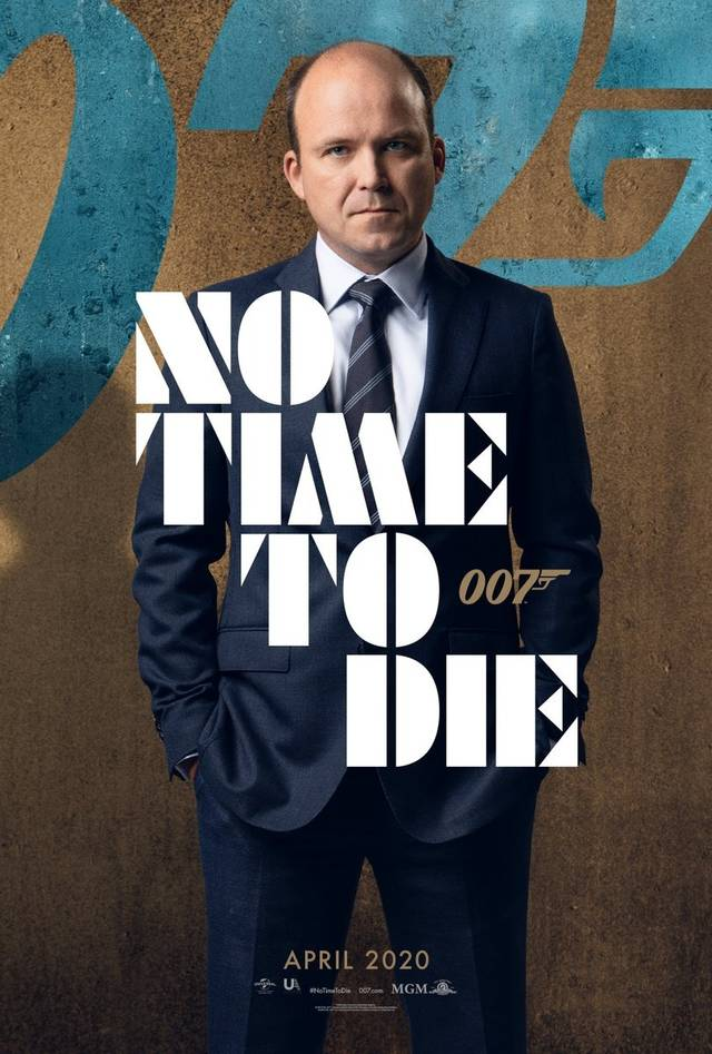 No Time To Die Teaser Character Poster USA 4