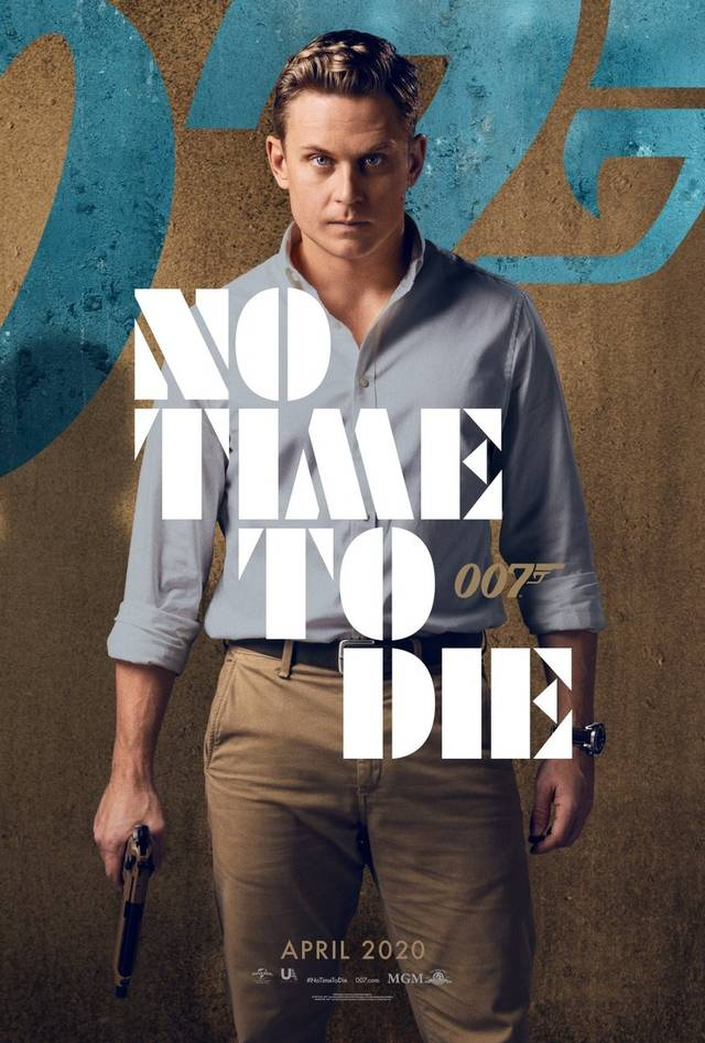 No Time To Die Teaser Character Poster USA 5