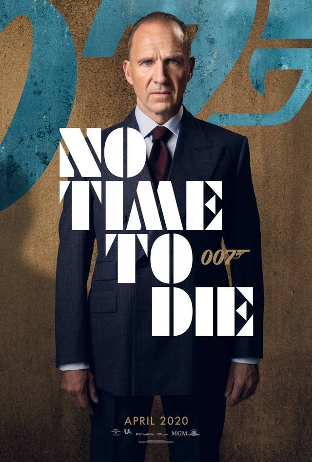 No Time To Die Teaser Character Poster USA 6