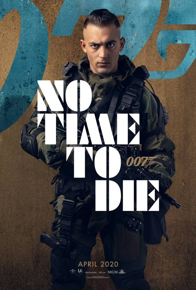 No Time To Die Teaser Character Poster USA 7