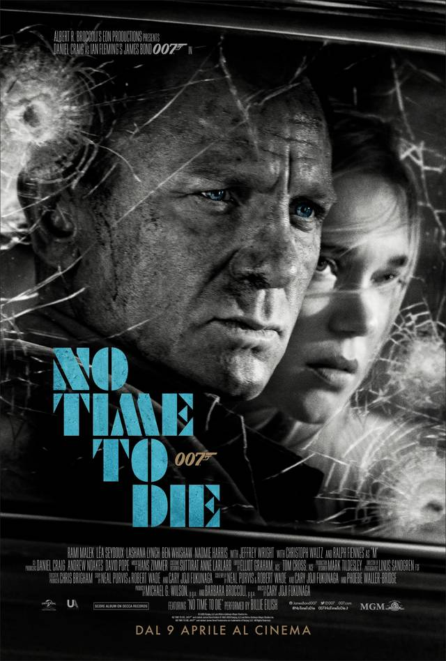 No Time To Die Poster Italia