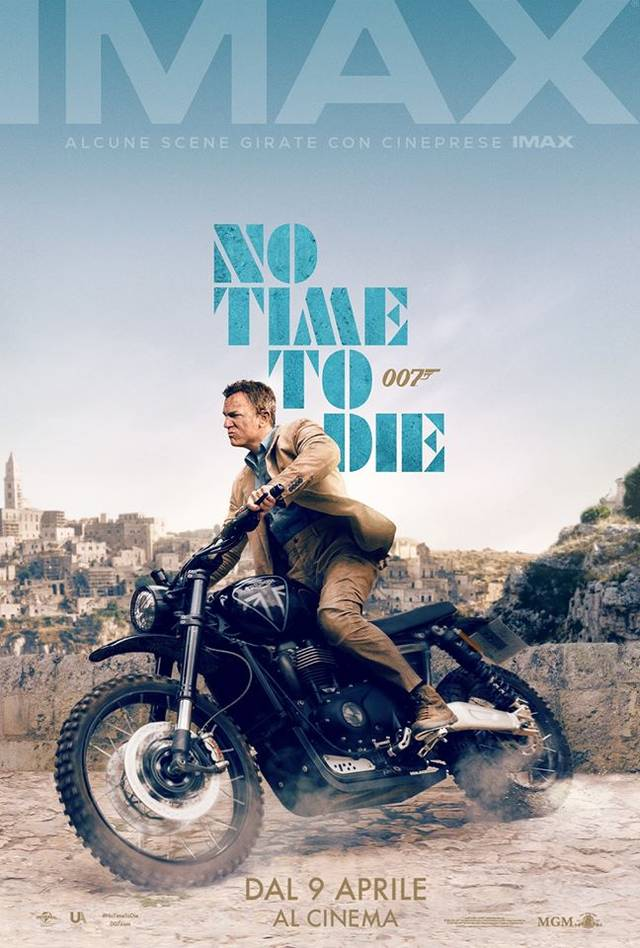 No Time To Die IMAX Teaser Poster Italia