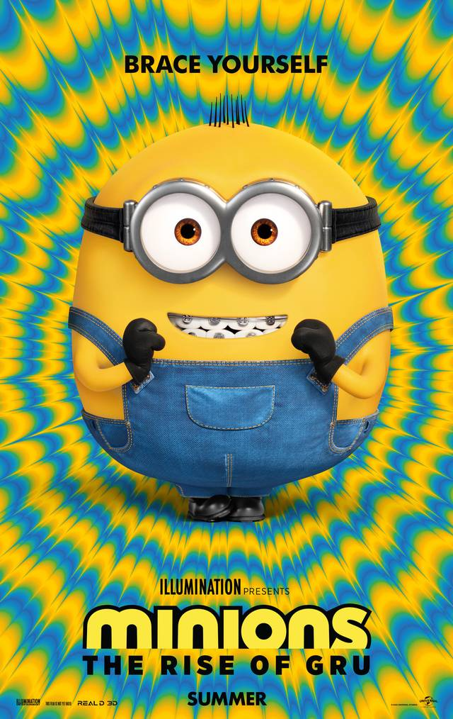 Minions - The Rise of Gru Teaser Poster USA
