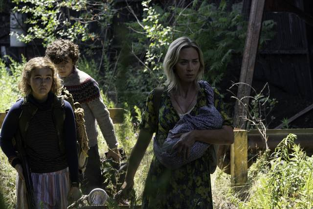 A Quiet Place - Part II Emily Blunt Millicent Simmonds Noah Jupe foto dal film 1