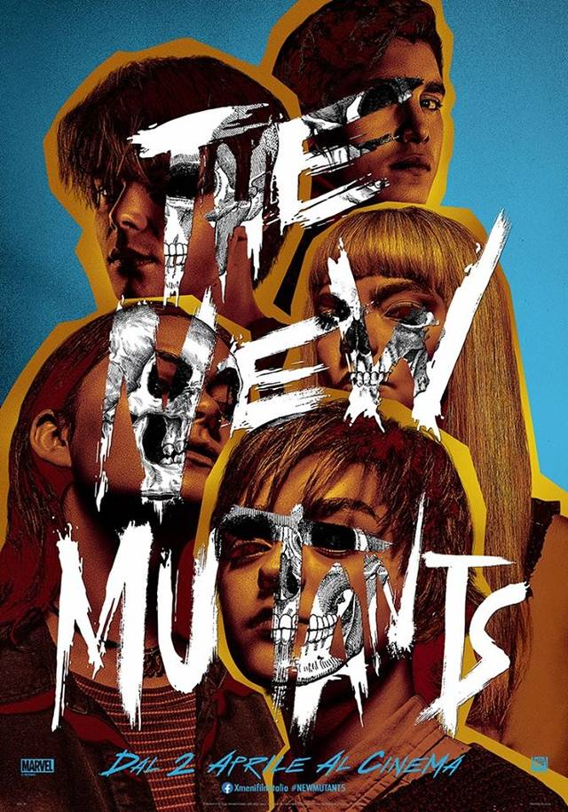 The New Mutants Teaser Poster Italia
