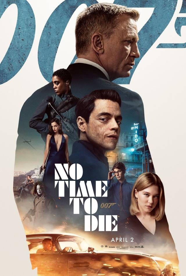 No Time To Die Teaser Poster USA