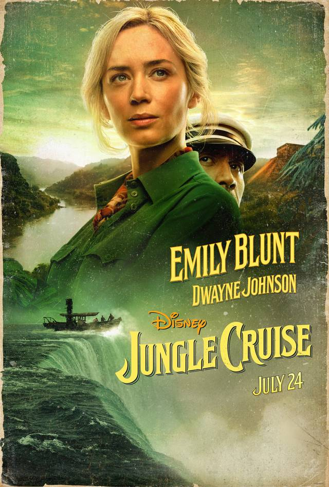 Jungle Cruise Teaser Character Poster USA 1