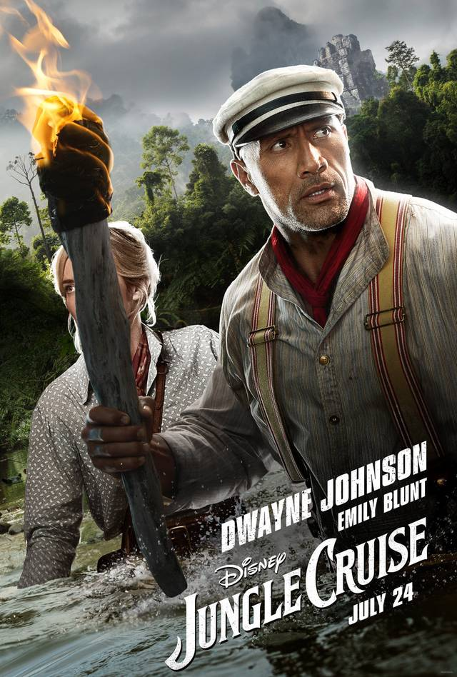 Jungle Cruise Teaser Character Poster USA 2