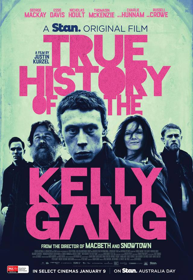 The True History of the Kelly Gang Poster Internazionale 2