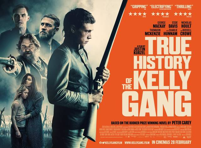 The True History of the Kelly Gang Poster Orizzontale Internazionale