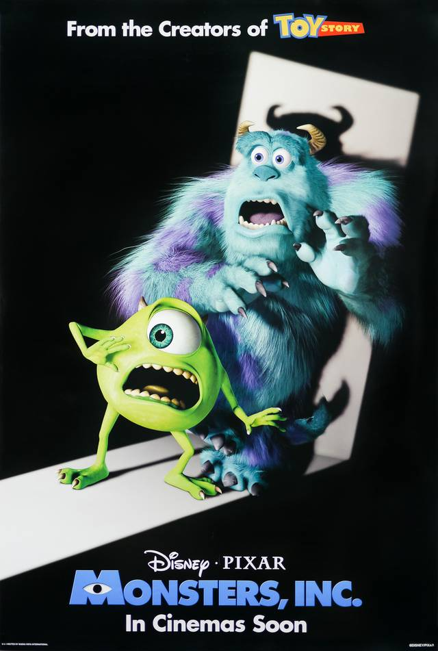 Monsters & Co Poster USA 1