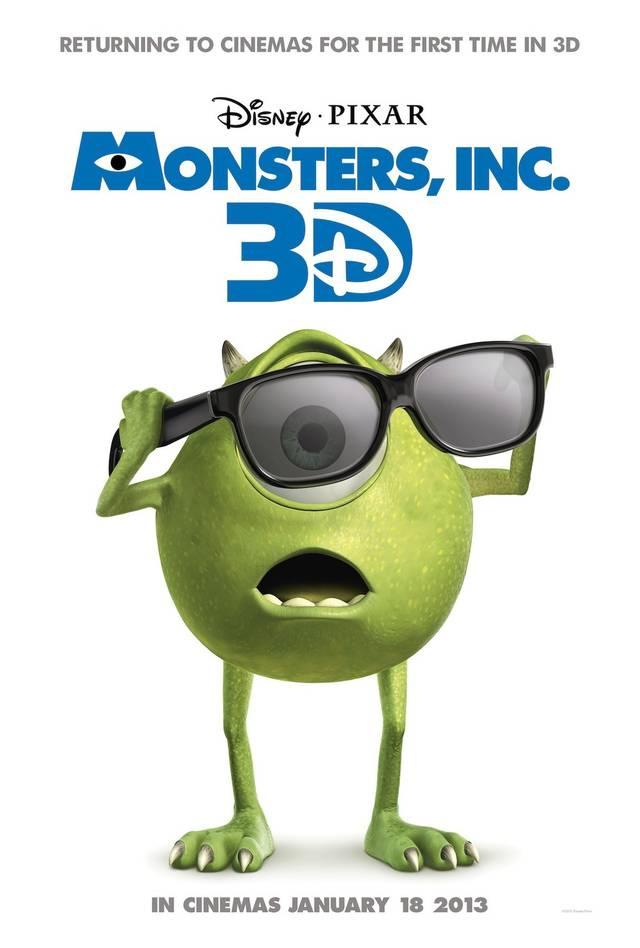 Monsters & Co Poster USA 5