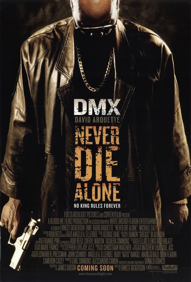 Never Die Alone Poster USA