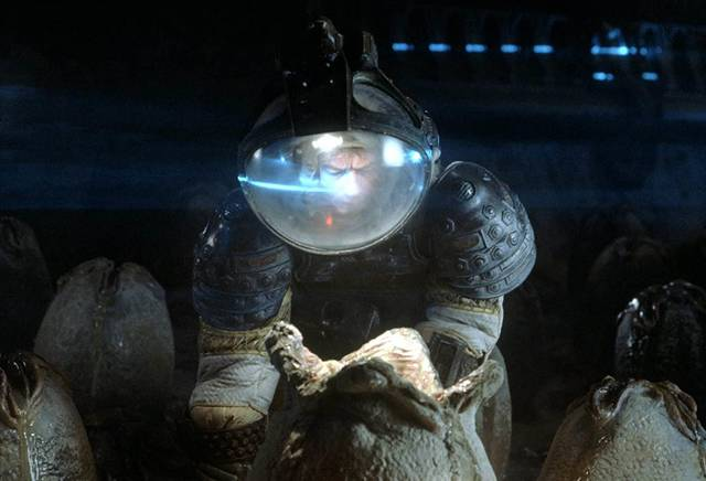 Alien John Hurt foto dal film 2