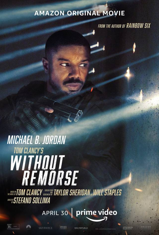 Without Remorse Amazon Prime Poster Internazionale