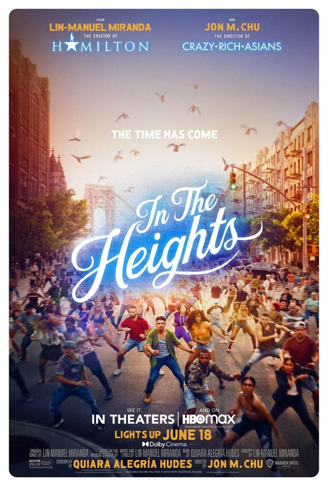 Sognando a New York - In The Heights Poster USA 3