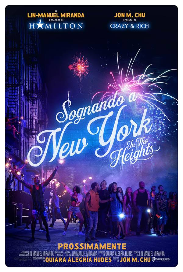 Sognando a New York - In the Heights_Poster Italia 2