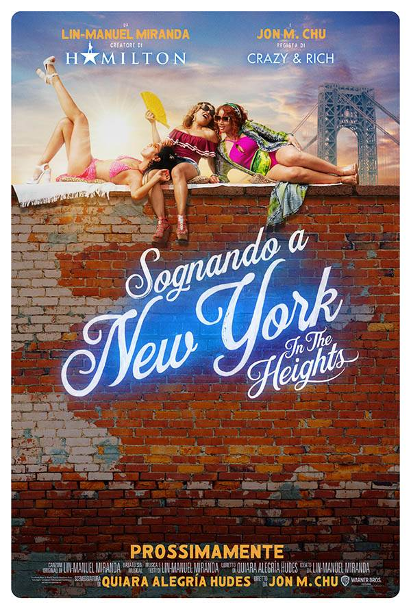 Sognando a New York - In the Heights_Poster Italia 4