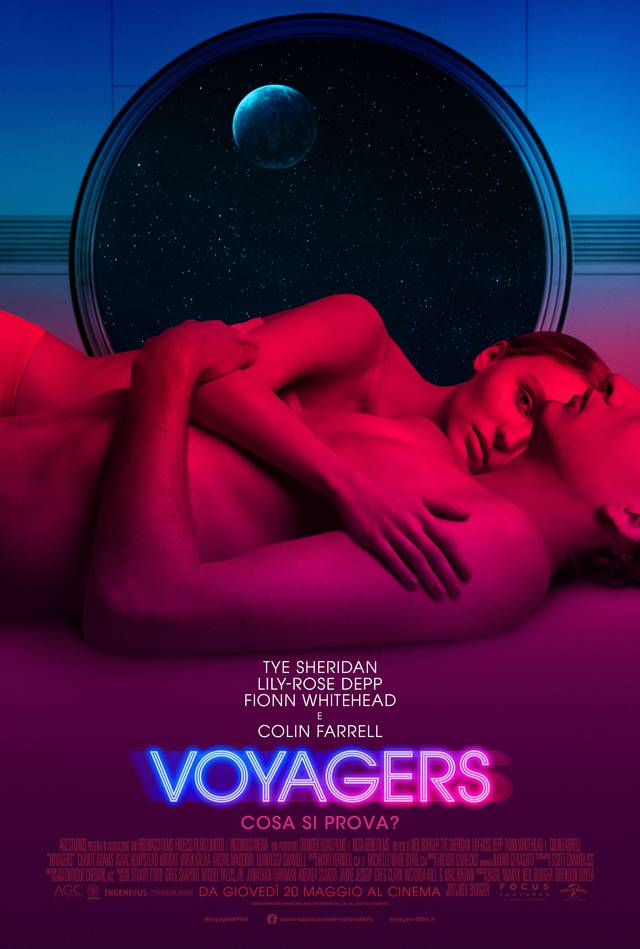 Voyagers Poster Italia