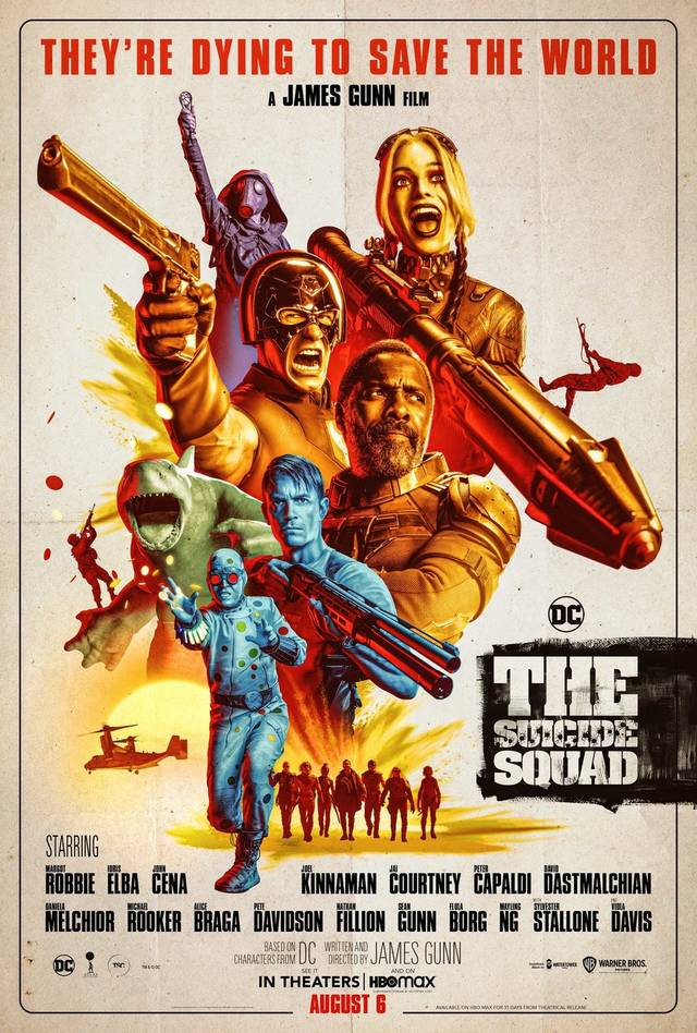 The Suicide Squad Poster USA