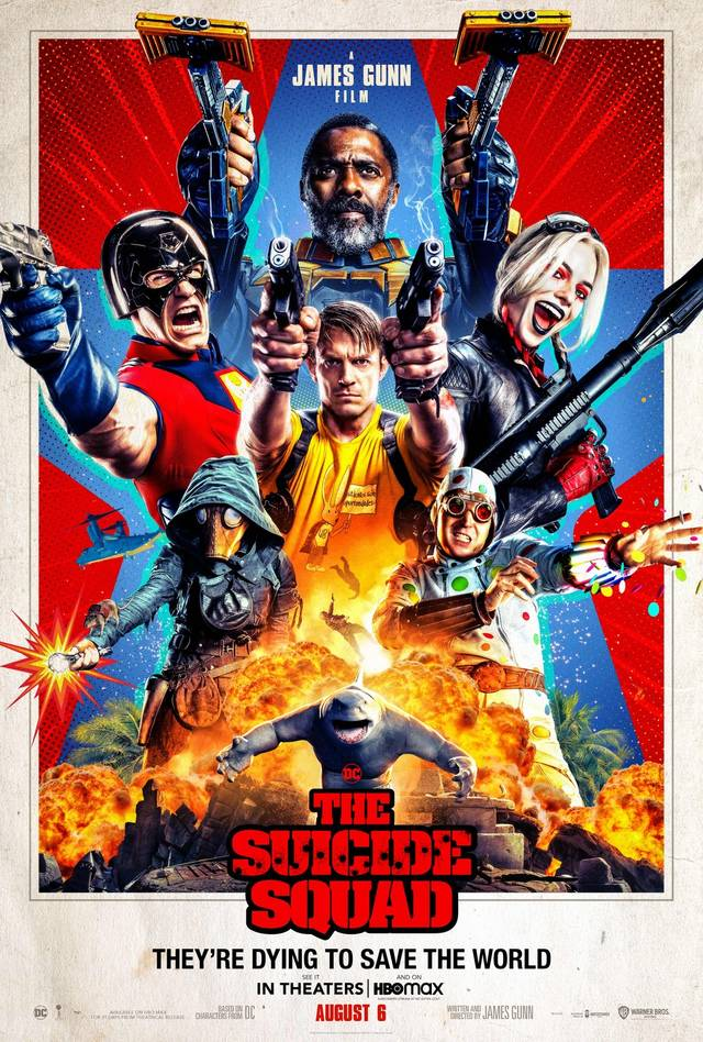 The Suicide Squad Poster USA 2