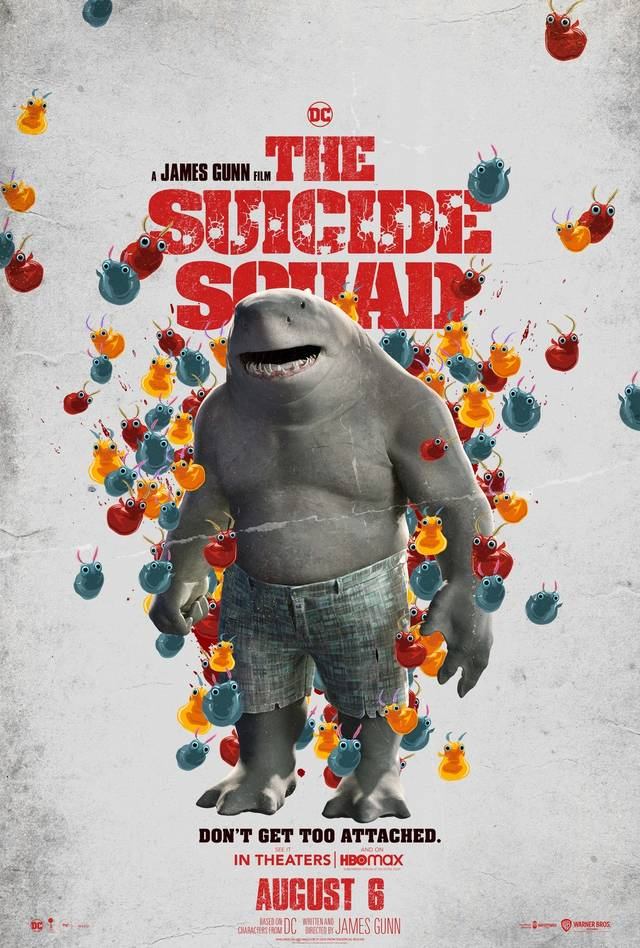 The Suicide Squad Teaser Character Poster USA 10