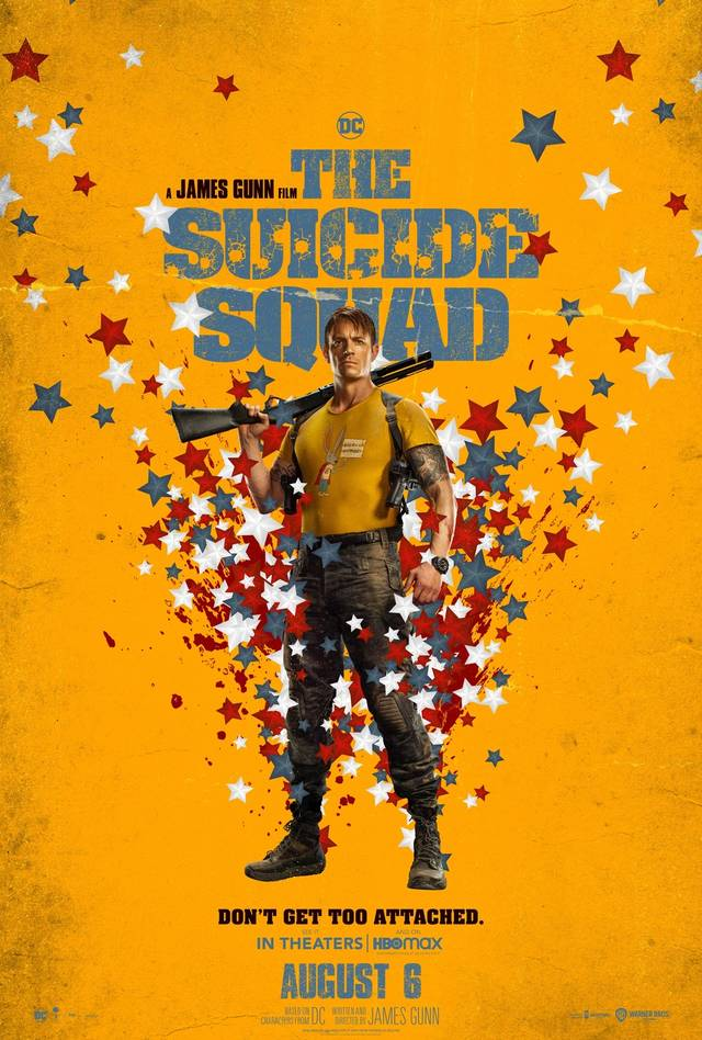 The Suicide Squad Teaser Character Poster USA 11