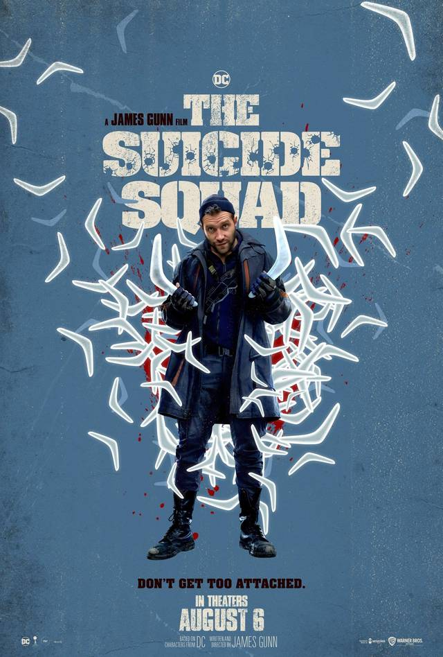 The Suicide Squad Teaser Character Poster USA 12