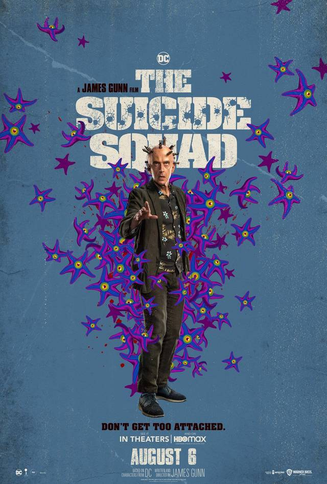 The Suicide Squad Teaser Character Poster USA 1