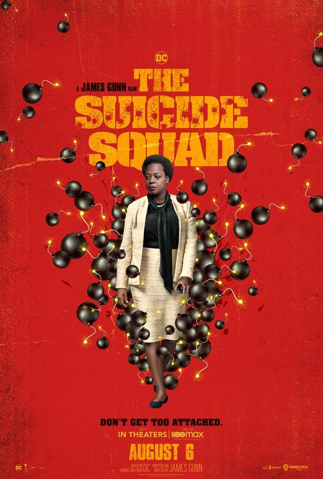 The Suicide Squad Teaser Character Poster USA 3