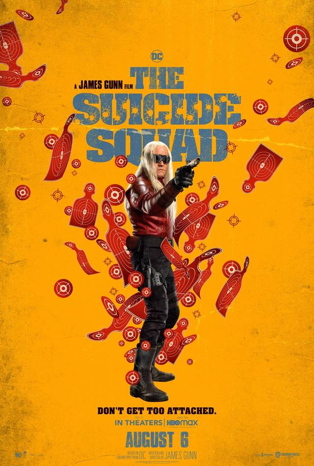 The Suicide Squad Teaser Character Poster USA 4