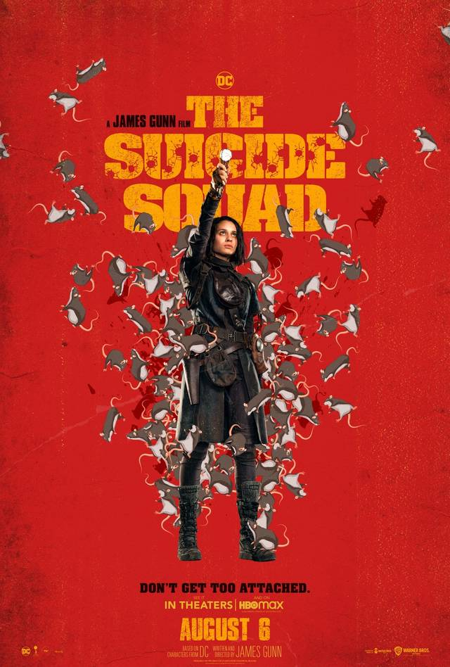 The Suicide Squad Teaser Character Poster USA 5