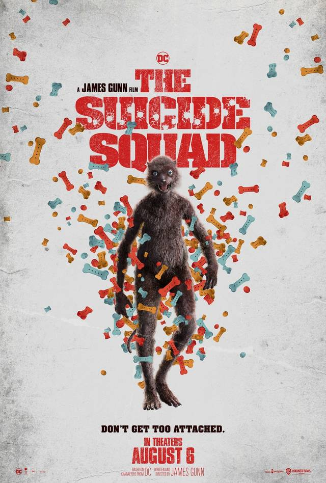 The Suicide Squad Teaser Character Poster USA 6