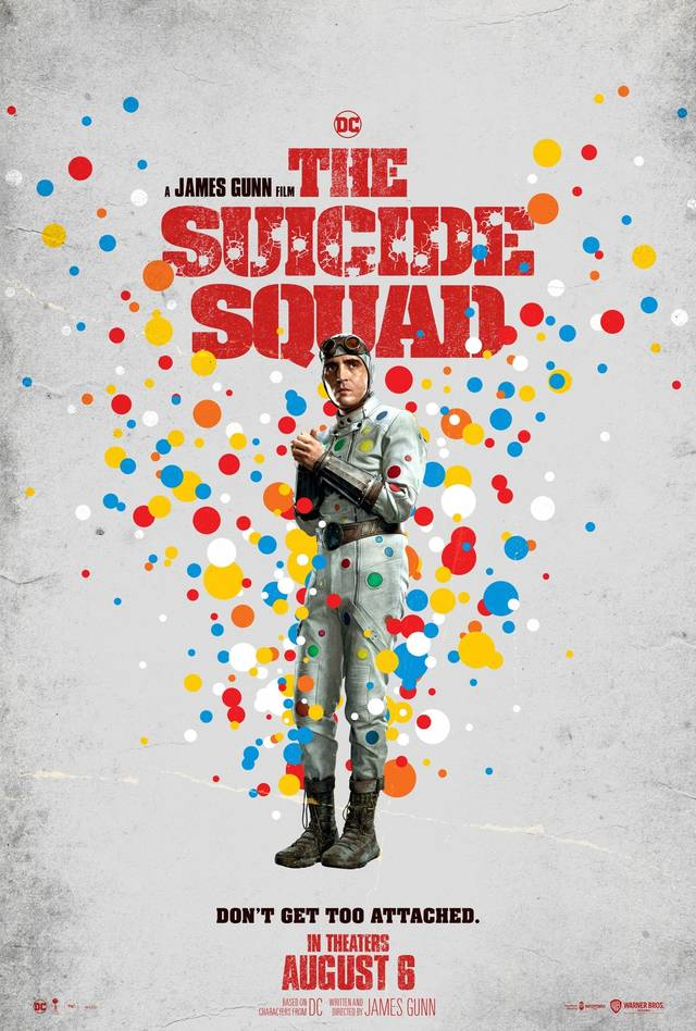 The Suicide Squad Teaser Character Poster USA 8