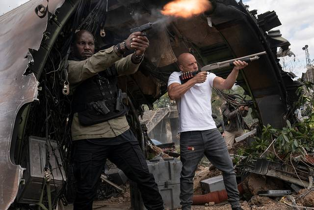 Fast & Furious 9 - The Fast Saga Vin Diesel Tyrese Darnell Gibson foto dal film 2