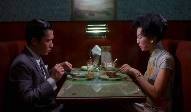 In the Mood for Love Maggie Cheung Tony Leung Chiu Wai foto dal film 1