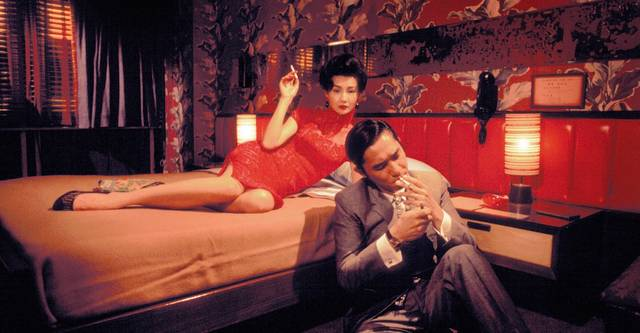In the Mood for Love Maggie Cheung Tony Leung Chiu Wai foto dal film 2