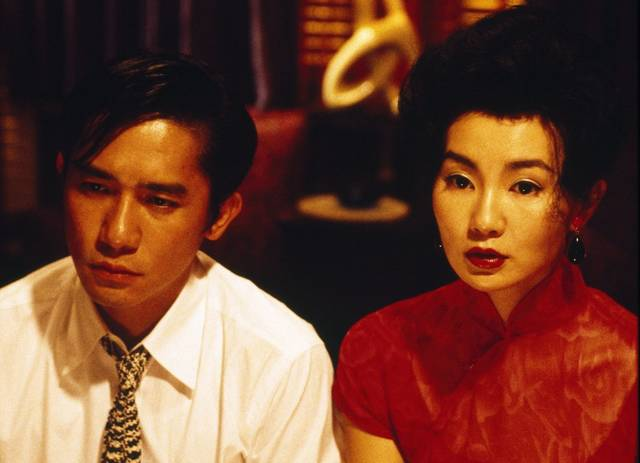 In the Mood for Love Maggie Cheung Tony Leung Chiu Wai foto dal film 3