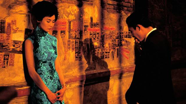 In the Mood for Love Maggie Cheung Tony Leung Chiu Wai foto dal film 4