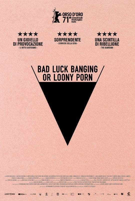 Bad luck banging or loony porn Poster Italia