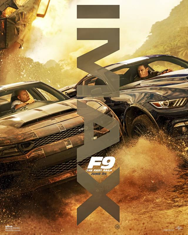 Fast & Furious 9 - The Fast Saga IMAX Teaser Poster Internazionale