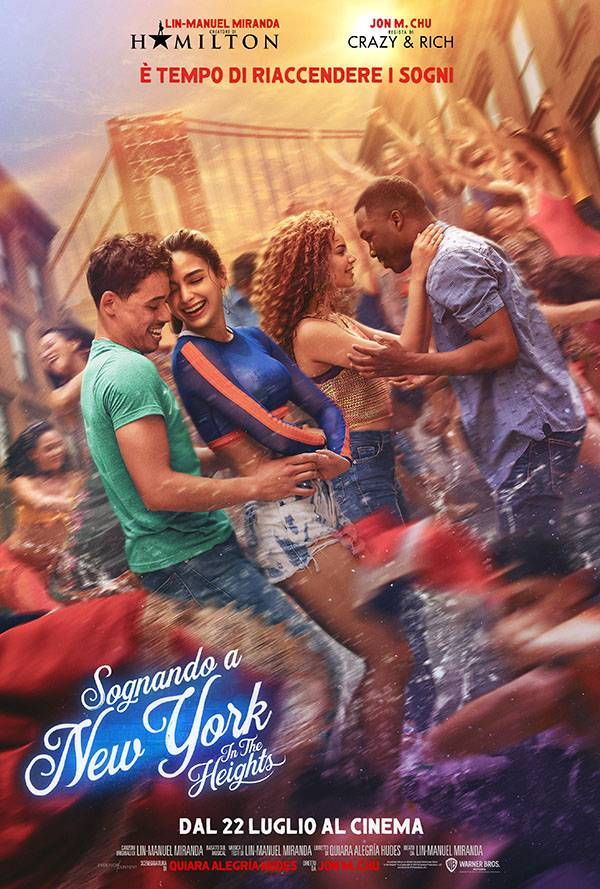 Sognando a New York - In the Heights Poster Italia